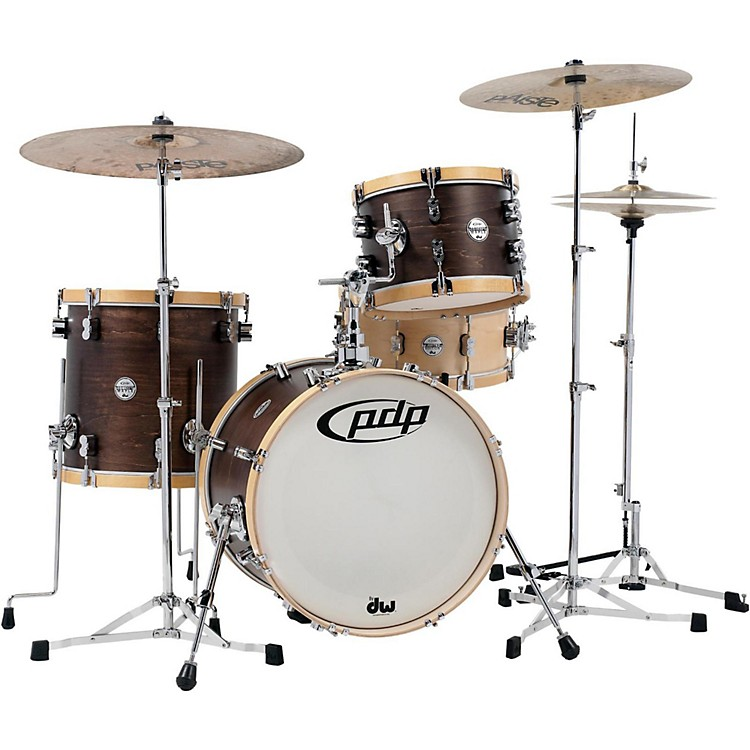 PDP by DWConcept Classic 3-Piece Bop Shell PackWalnut/Natural