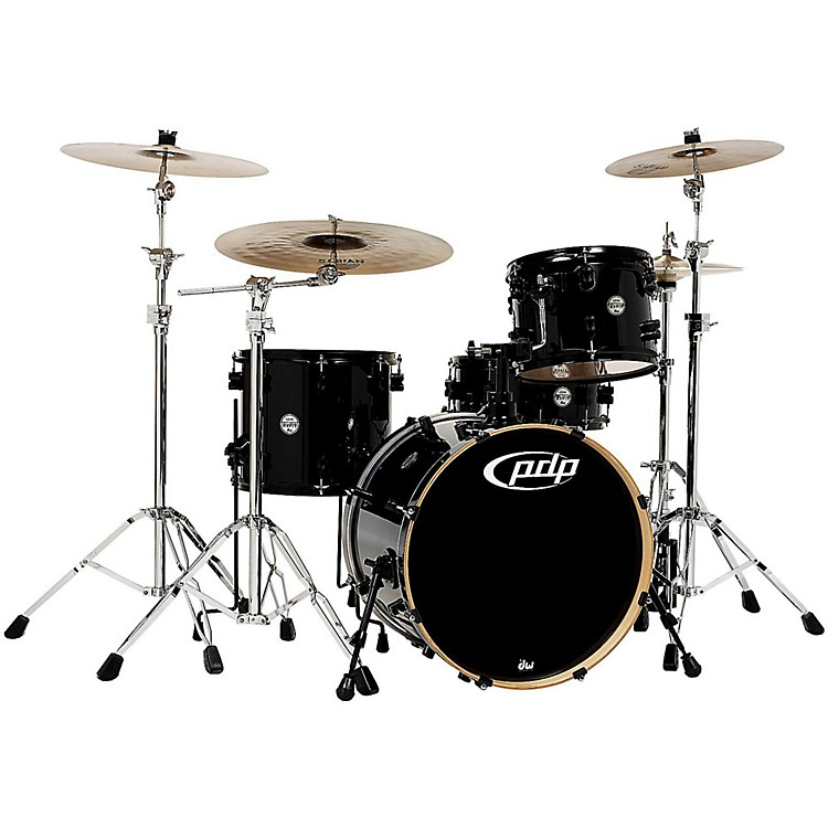 PDP Concept Maple 4-Piece Shell Pack Pearlescent Black