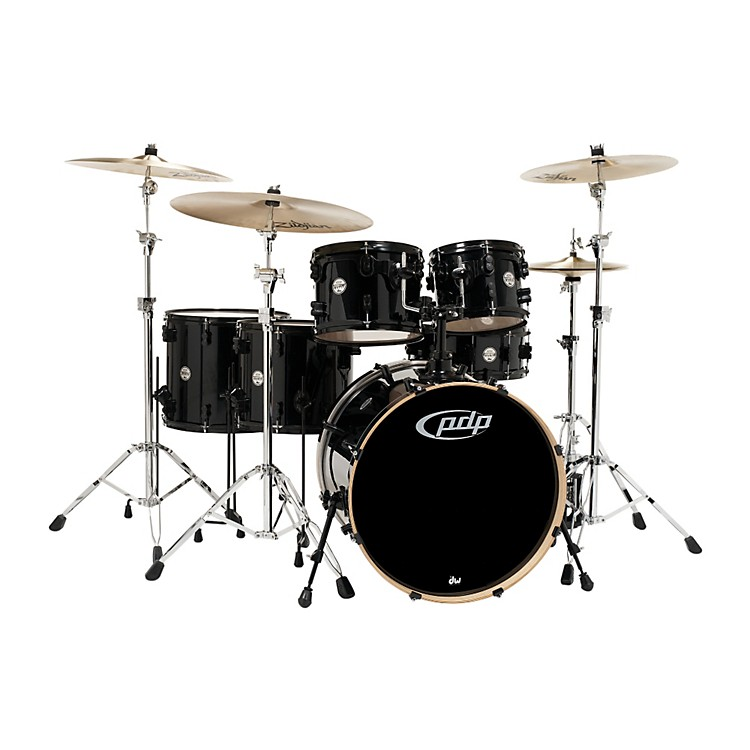 PDP by DWConcept Maple by DW 6-Piece Shell PackPearlescent Black