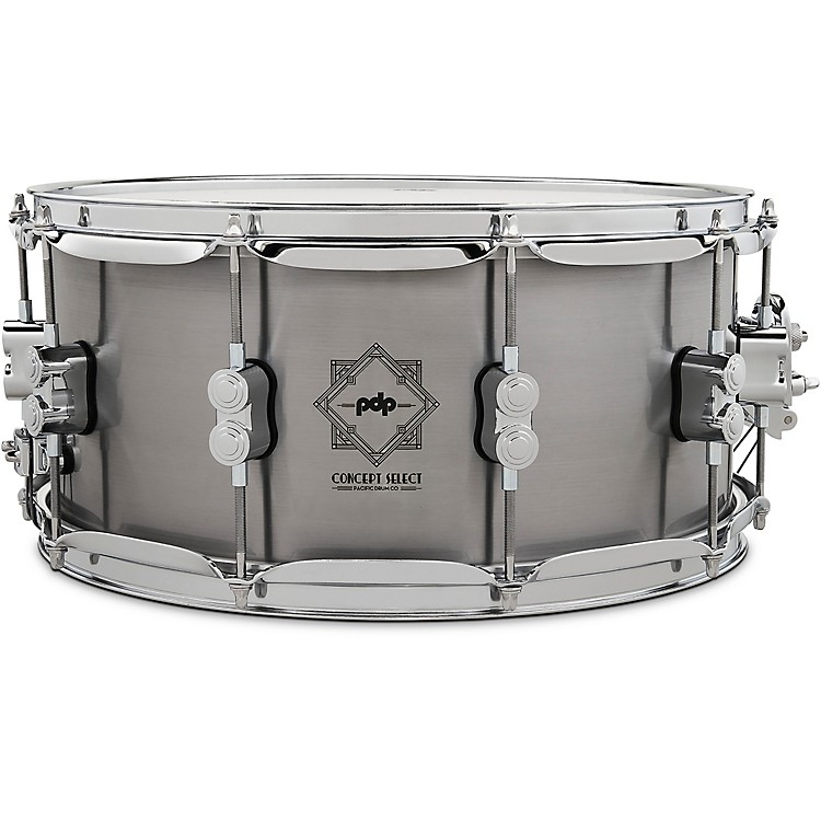 PDP by DW Concept Select Steel Snare Drum 14 x 6.5 in. Steel