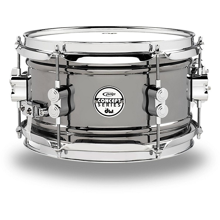 PDP by DW Concept Series Black Nickel Over Steel Snare Drum 10x6 Inch
