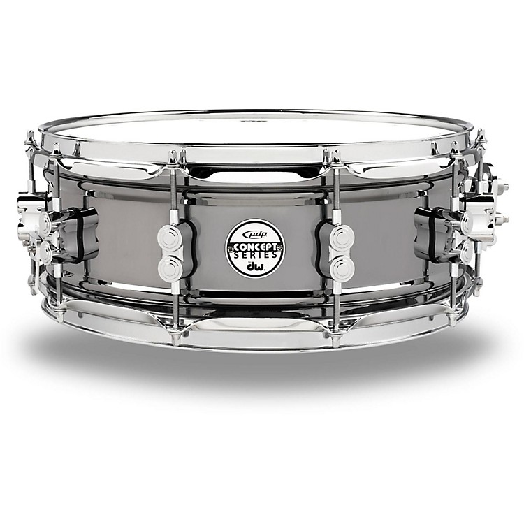 PDP Concept Series Black Nickel Over Steel Snare Drum 14x5.5 Inch