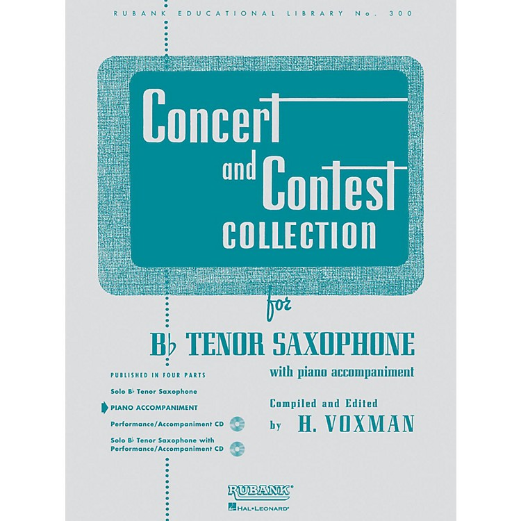Hal LeonardConcert And Contest Collection for B Flat Tenor Saxophone Piano Accompaniment Only