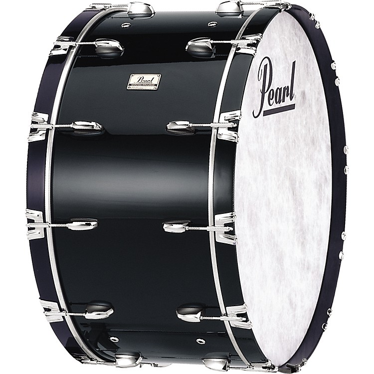Pearl Concert Bass Drum Midnight Black 16x32