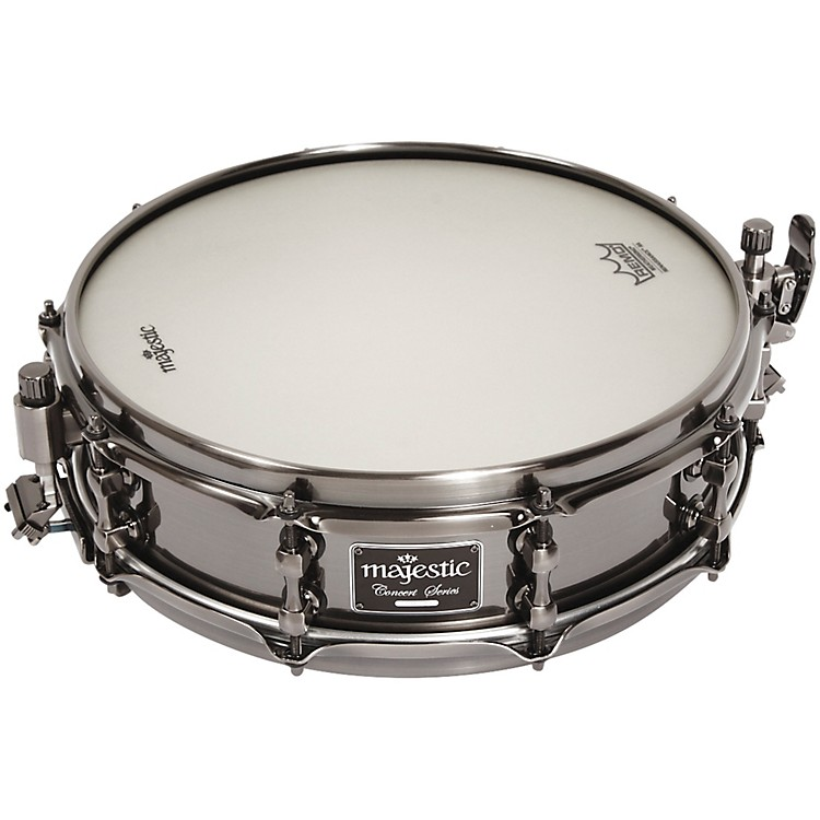 MajesticConcert Black Snare DrumAluminum14x4