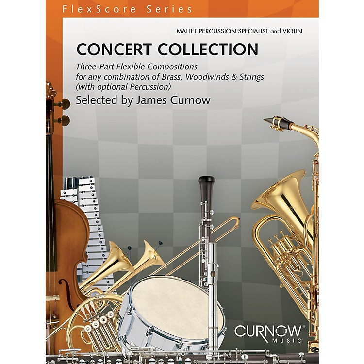 Curnow Music Concert Collection (Grade 1.5) (Mallet Percussion Specialist & Violin) Concert Band Level 1.5 by Various
