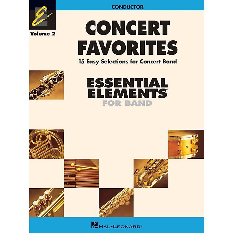 Hal LeonardConcert Favorites Vol. 2 - Value Pak Concert Band Level 1-1.5 Arranged by Michael Sweeney