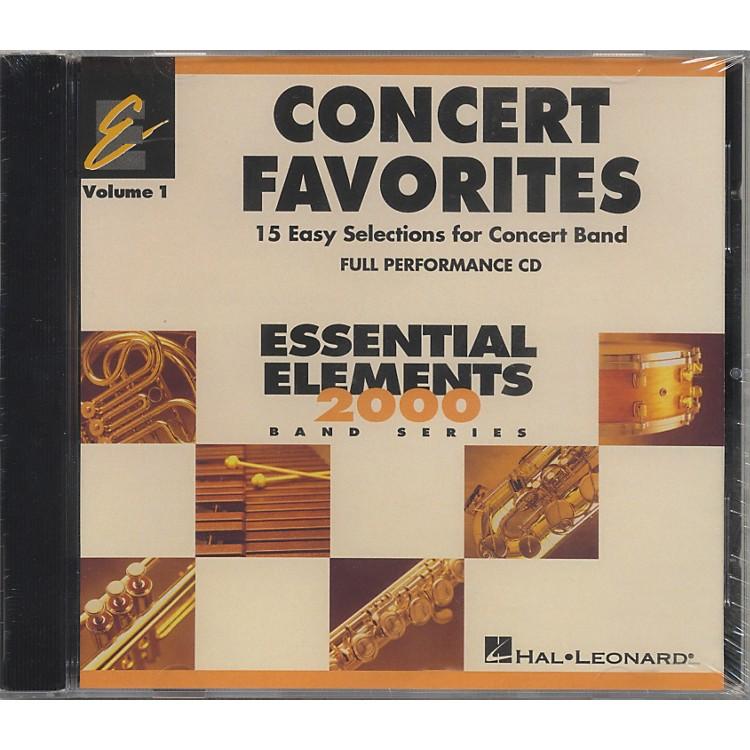 Hal LeonardConcert Favorites Vol1 - CD