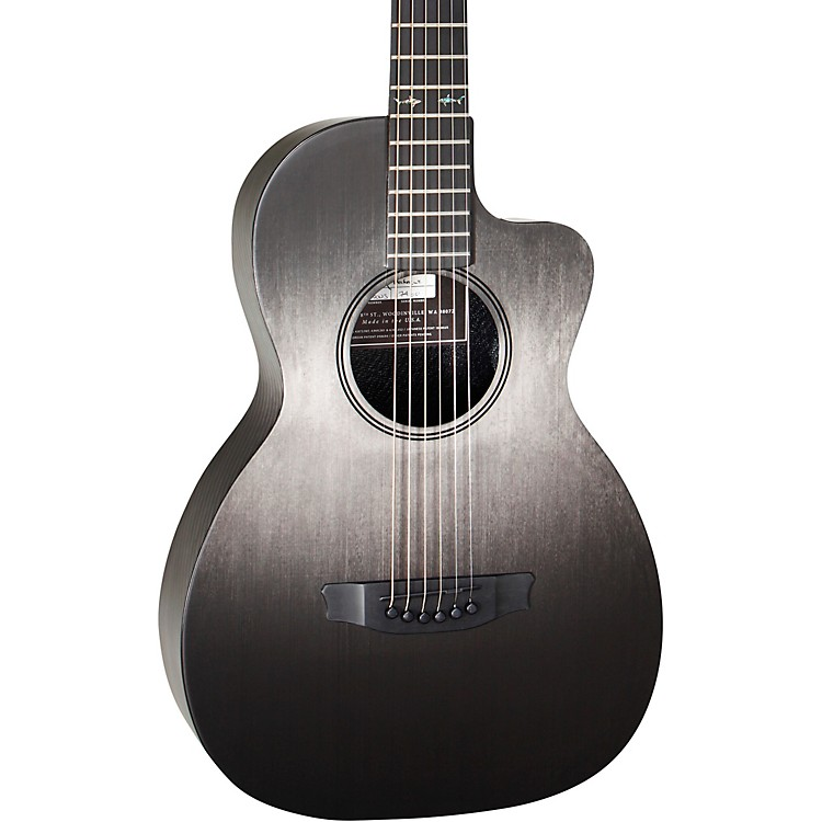 RainSongConcert Hybrid Series CH-PA Parlor Acoustic GuitarPinstripe Rosette