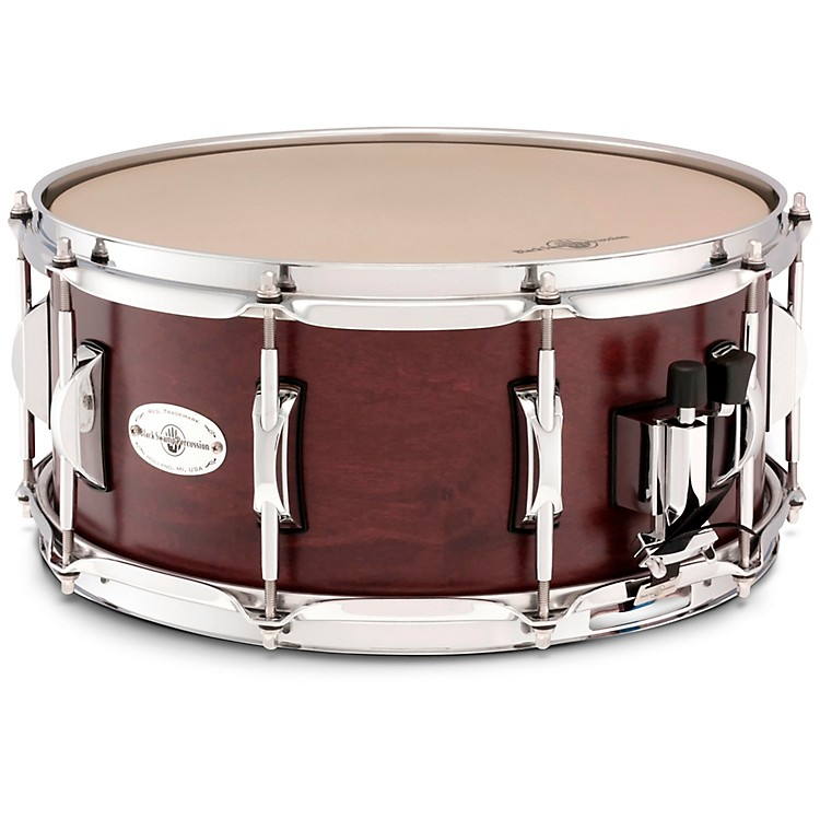 Black Swamp PercussionConcert Maple Shell Snare DrumCherry Rosewood14 x 6.5 in.