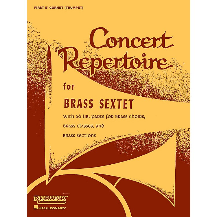 Rubank Publications Concert Repertoire for Brass Sextet (2nd and 3rd Trombone (opt.)) Ensemble Collection Series