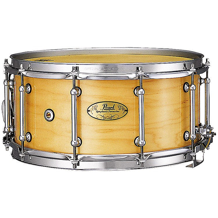 PearlConcert Series Snare Drum14 x 6.5 in. Natural