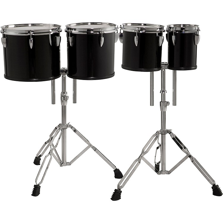 Sound Percussion Labs Concert Tom Set 6, 8, 10 and 12 with Two Stands