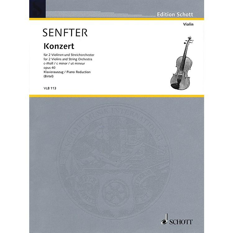 SchottConcert in C Minor, Op. 40 Schott Series Softcover Composed by Johanna Senfter