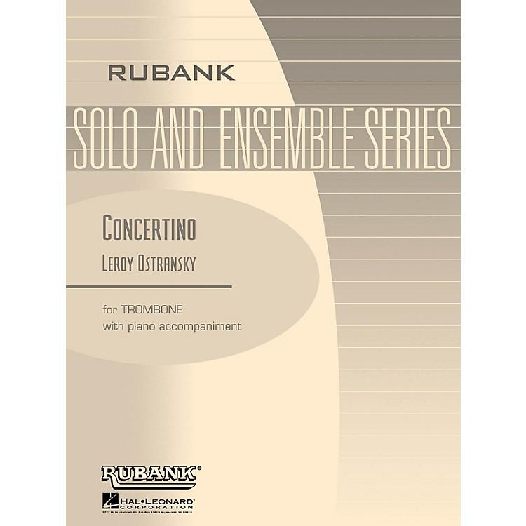 Rubank PublicationsConcertino (Trombone Solo with Piano - Grade 5) Rubank Solo/Ensemble Sheet Series