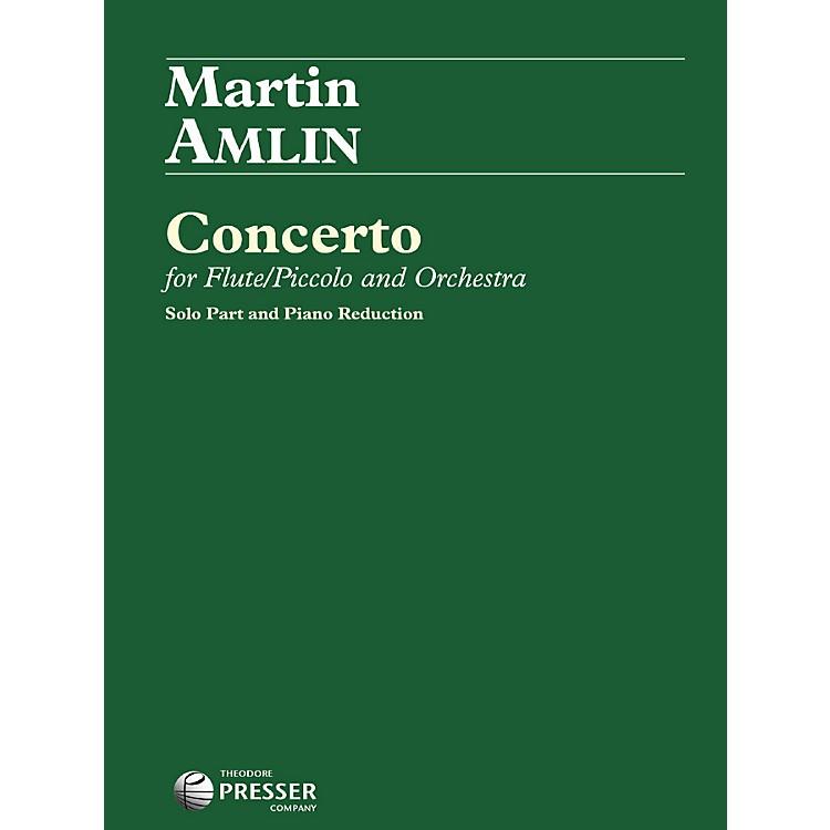 Theodore PresserConcerto For Flute/Piccolo And Orchestra (Book + Sheet Music)