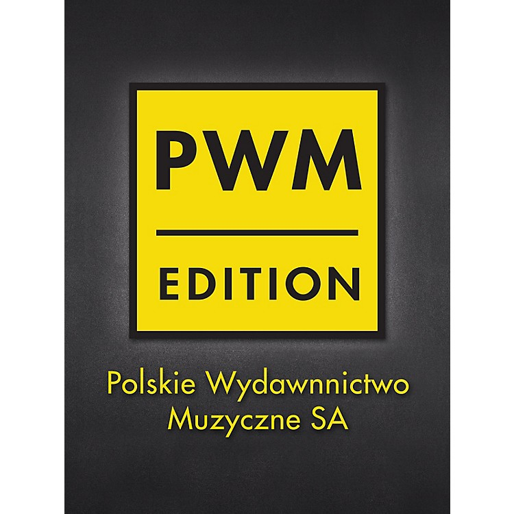 PWM Concerto G Major for Violin and Piano PWM Series Softcover Composed by Oscar Rieding