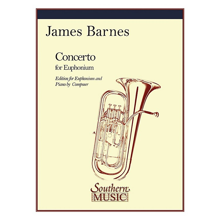 SouthernConcerto, Op. 132 (Baritone) Southern Music Series Composed by James Barnes
