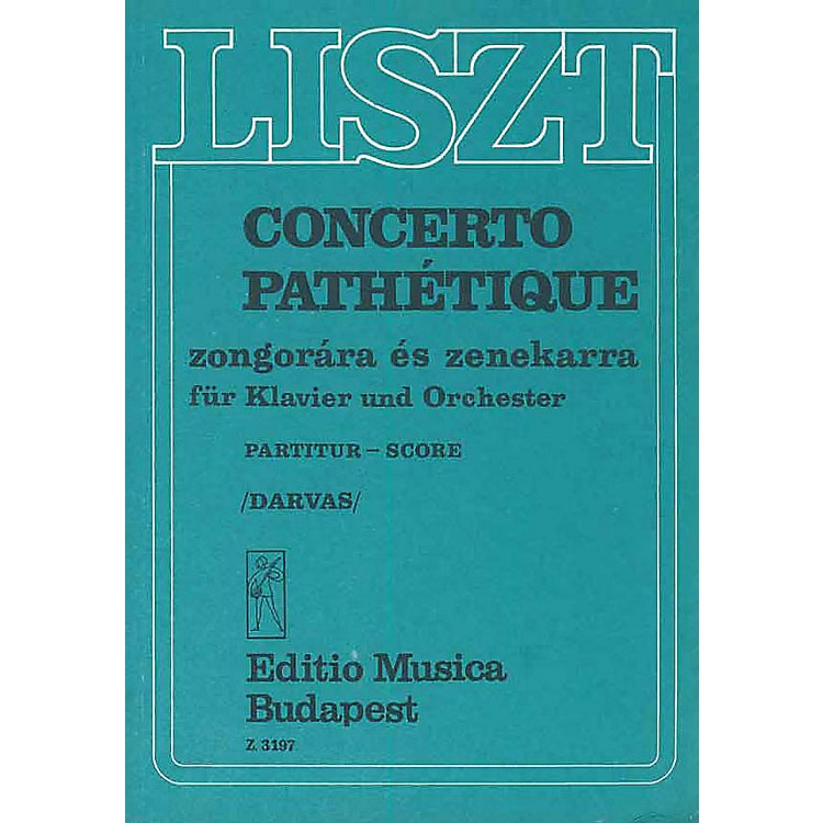 Editio Musica BudapestConcerto Pathetique For Piano And Orchestra Score EMB Series