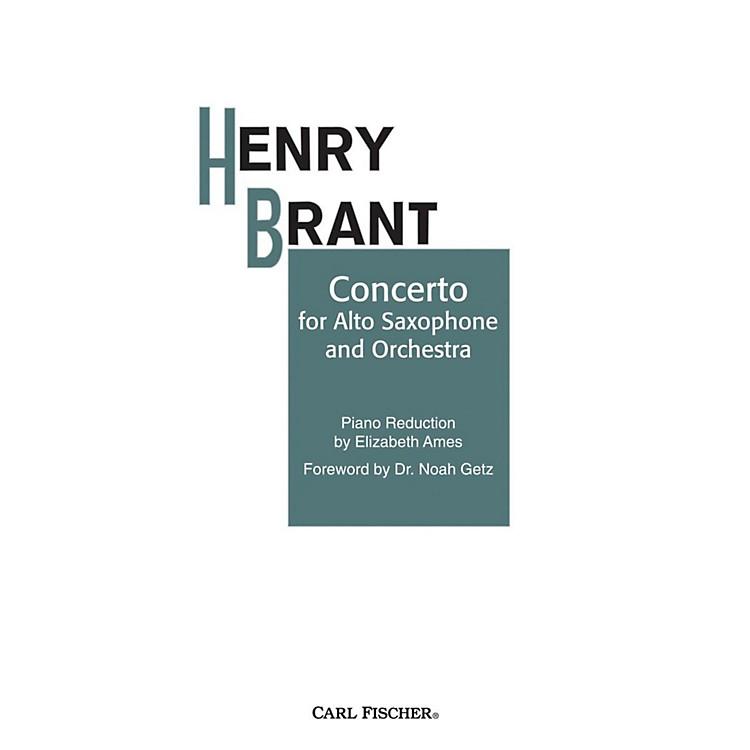 Carl FischerConcerto for Alto Sax and Orchestra