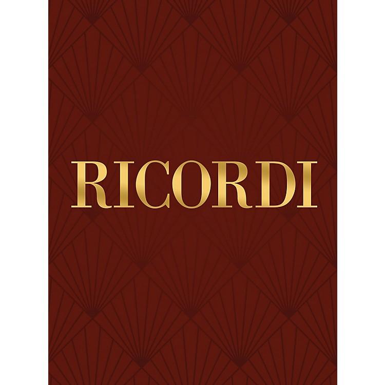 RicordiConcerto for Clarinet Solo (Carte fiorentine No. 2) Woodwind Series by Valentino Bucchi