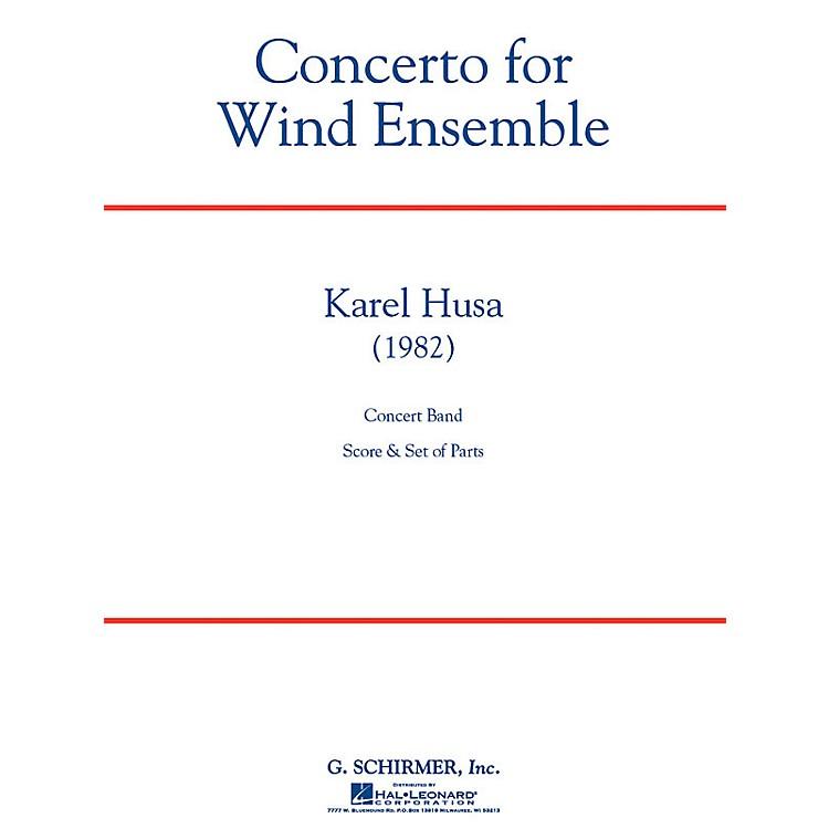 G. SchirmerConcerto for Wind Ensemble Concert Band Level 6 Composed by Karel Husa