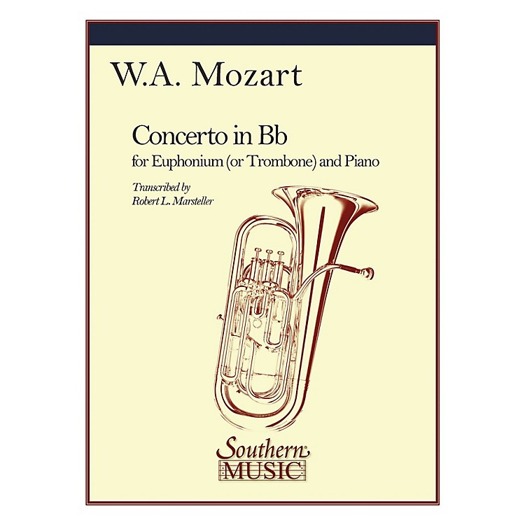 SouthernConcerto in B-Flat, K191 Southern Music Composed by Wolfgang Amadeus Mozart Arranged by Robert Marsteller