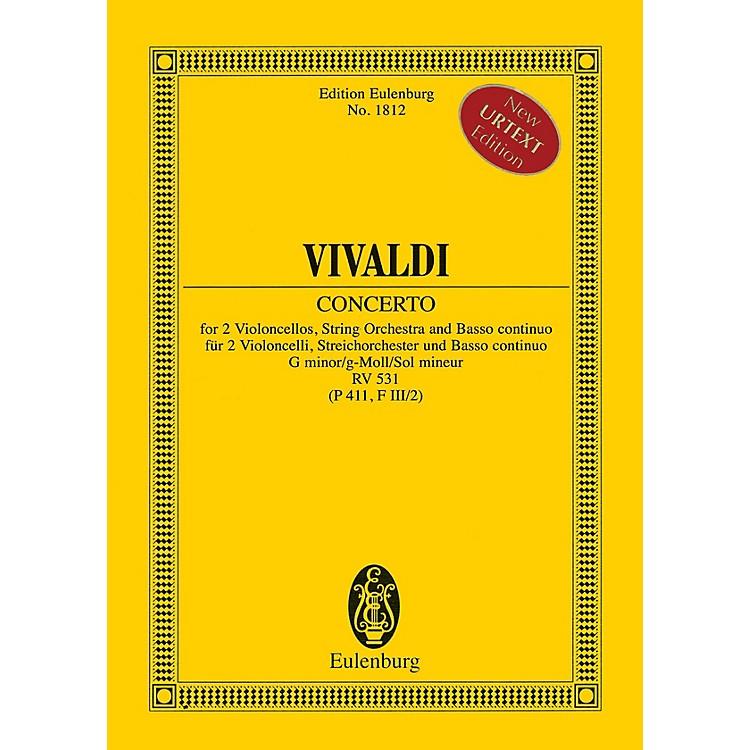 EulenburgConcerto in G minor RV 531 (P 411, F III/2) Study Score Series Softcover Composed by Antonio Vivaldi