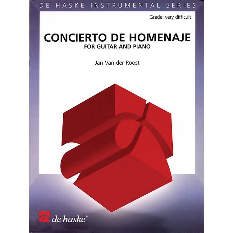 De Haske MusicConcierto De Homenaje (for Guitar and Piano) De Haske Play-Along Book Series Softcover