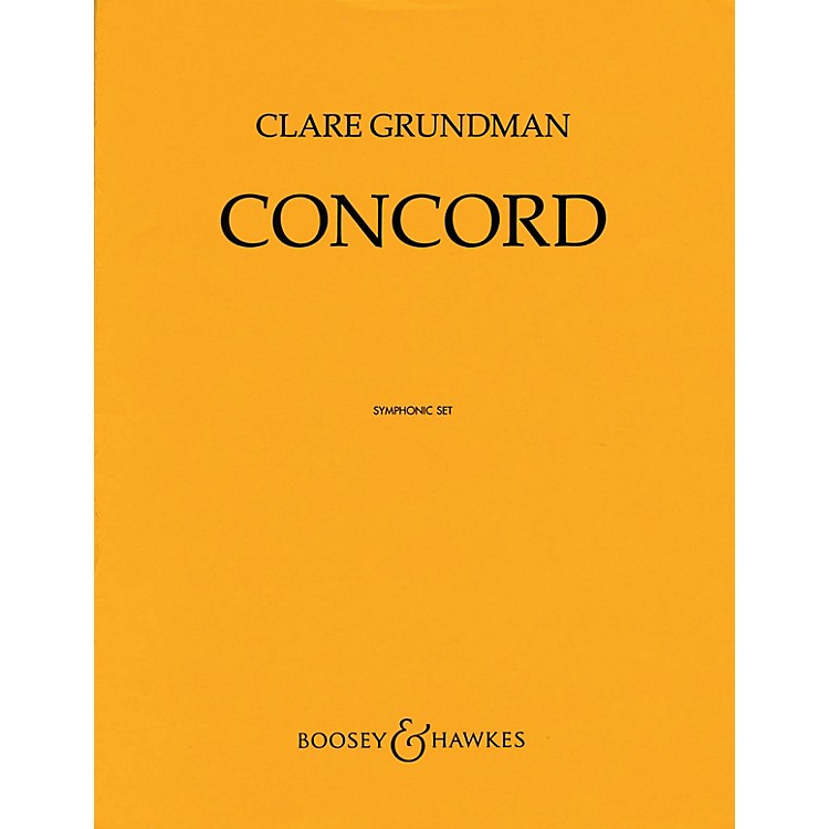 Boosey and HawkesConcord Concert Band Composed by Clare Grundman
