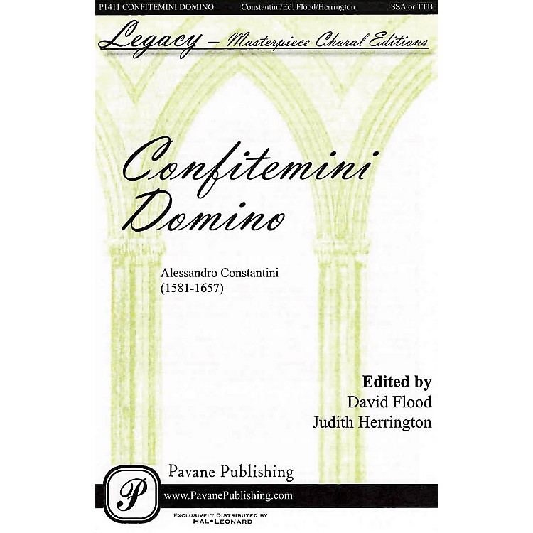 PavaneConfitemini Domino SSA/TTB composed by Alessandro Constantini