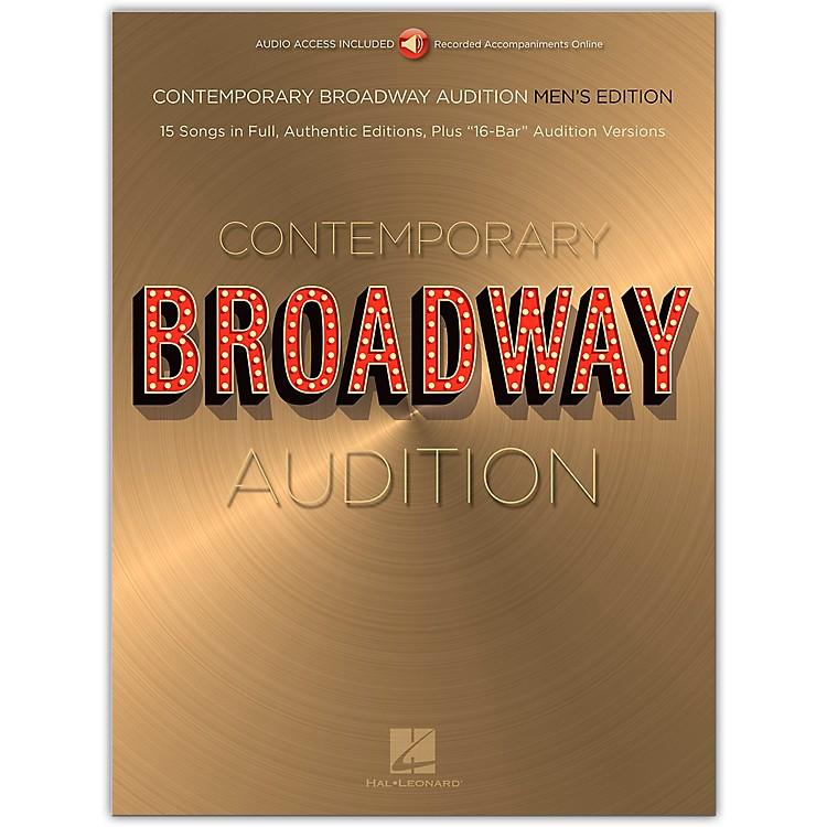 Hal LeonardContemporary Broadway Audition: Men's Edition - Book/Online Audio Full Song + 16-Bar Version