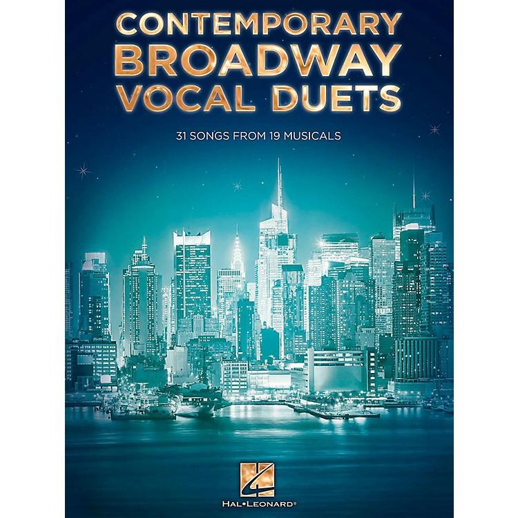 Hal LeonardContemporary Broadway Vocal Duets