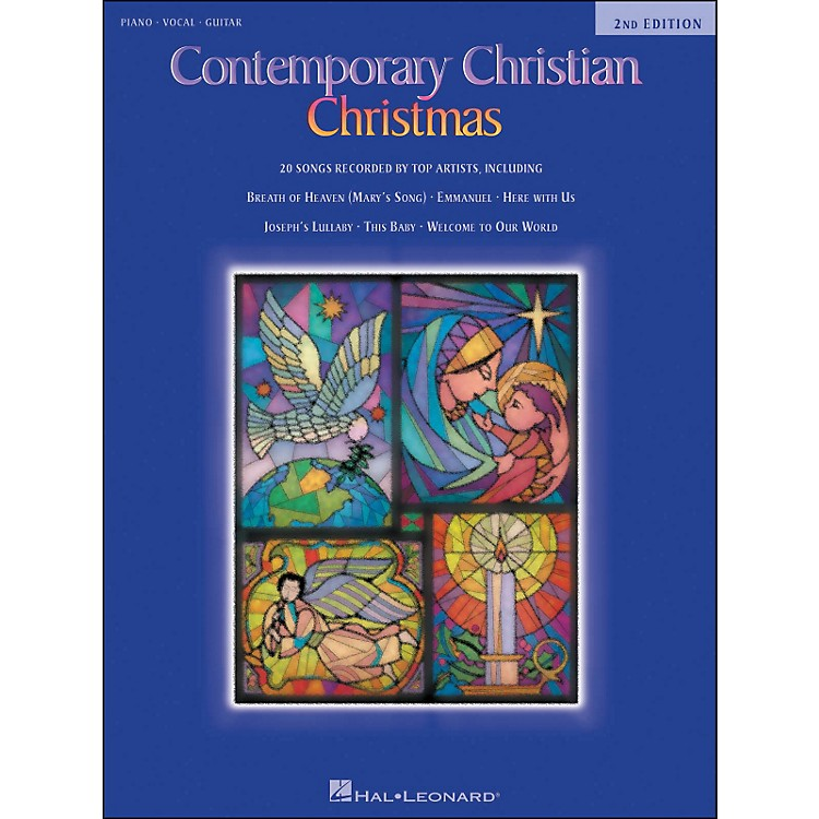 Hal LeonardContemporary Christian Christmas 2nd Edition arranged for piano, vocal, and guitar (P/V/G)