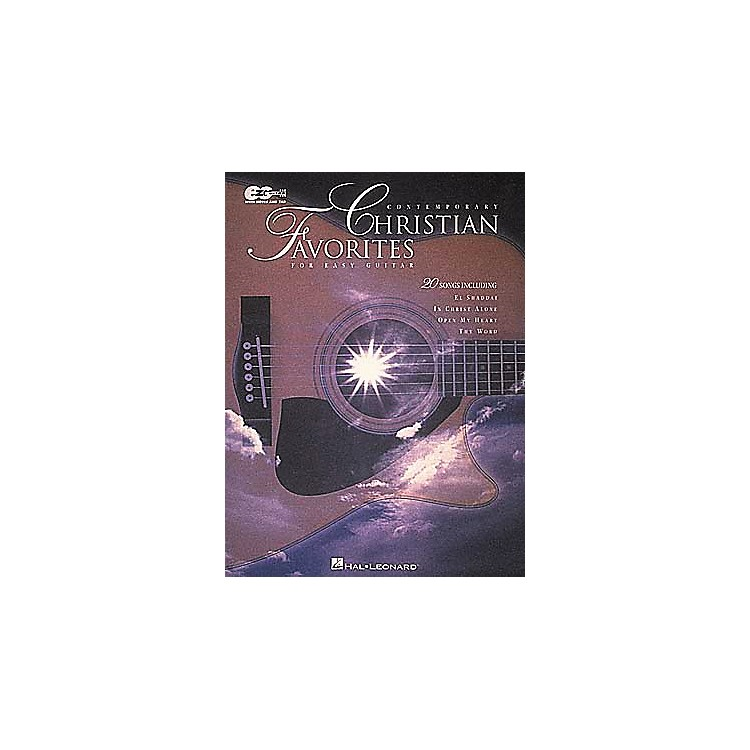 Hal LeonardContemporary Christian Favorites Guitar Tab Book