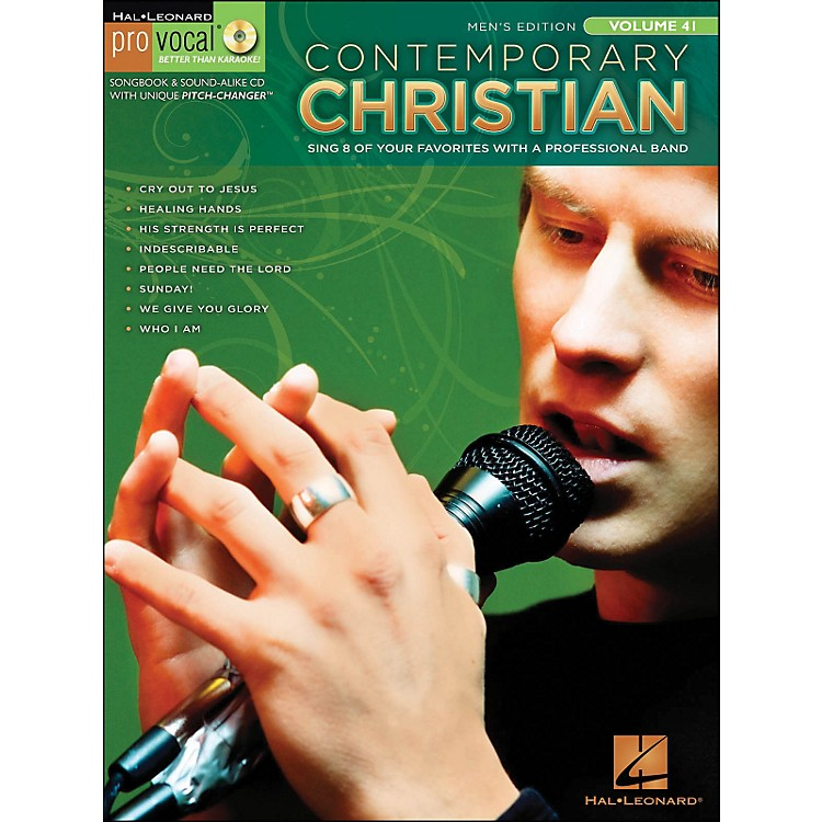 Hal Leonard Contemporary Christian Pro Vocal Songbook & CD - Men's Edition Volume 41