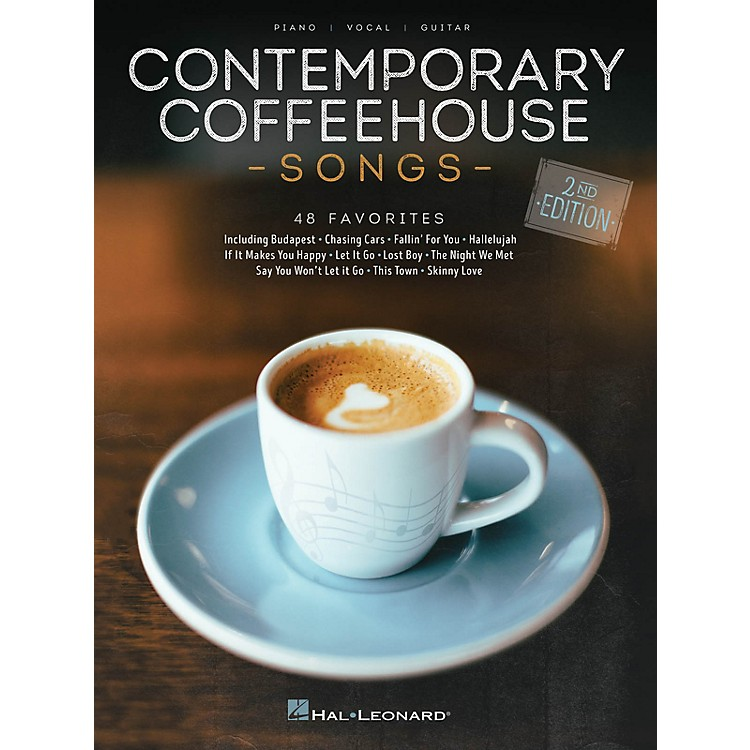 Hal LeonardContemporary Coffeehouse Songs - 2nd Edition Piano/Vocal/Guitar Songbook