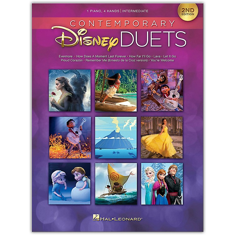 Hal Leonard Contemporary Disney Duets - 2nd Edition Piano Duet Songbook