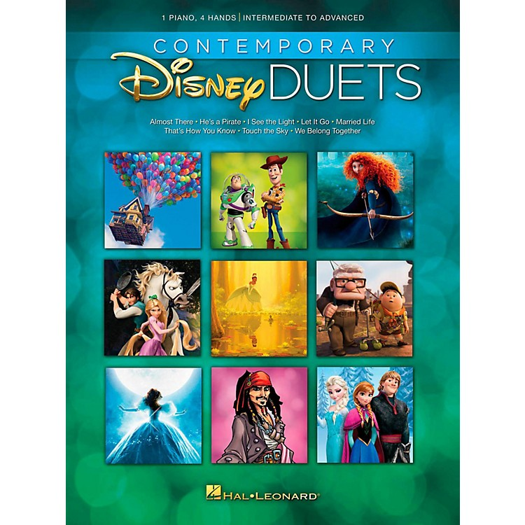 Hal Leonard Contemporary Disney Duets - Intermediate to Advanced Level