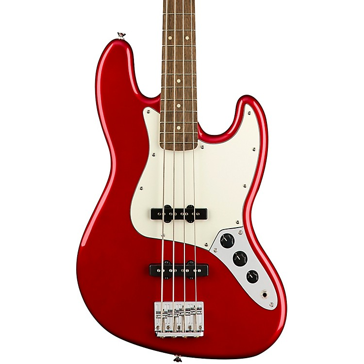 SquierContemporary Jazz BassMetallic Red