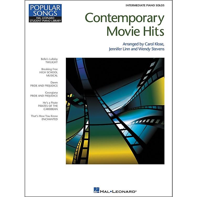 Hal LeonardContemporary Movie Hits - Hal Leonard Student Piano Library Popular Songs Series - Intermediate Level