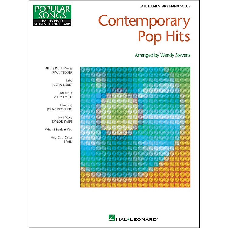 Hal LeonardContemporary Pop Hits - Late Elementary Piano Solos Songbook