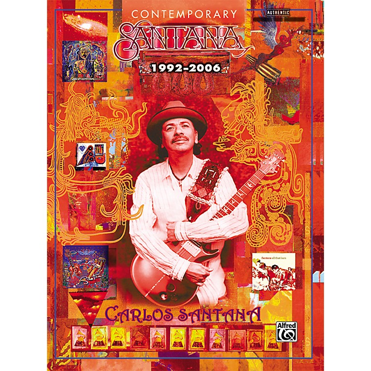AlfredContemporary Santana 1992-2006 Guitar Tab Songbook