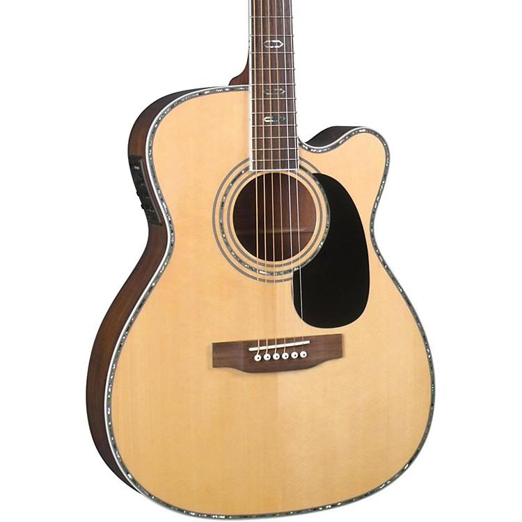 BlueridgeContemporary Series BR-73CE Cutaway 000 Acoustic-Electric GuitarNatural