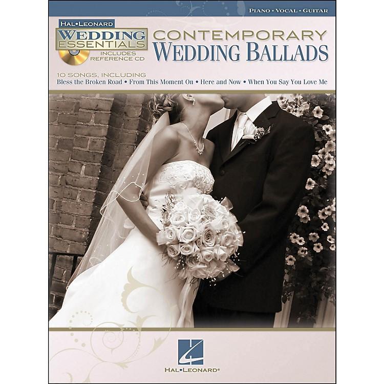 Hal LeonardContemporary Wedding Ballads - Wedding Essentials Series (Book/CD) arranged for piano, vocal, and guitar (P/V/G)