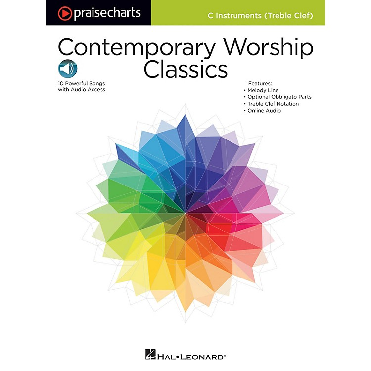Hal LeonardContemporary Worship Classics Praise Chart Series Softcover Audio Online Performed by Various