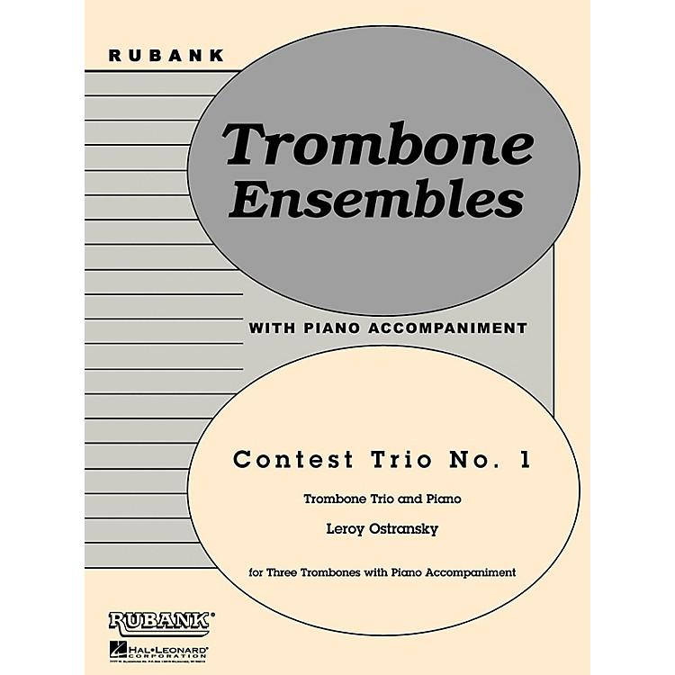 Rubank PublicationsContest Trio No. 1 (Trombone Trio with Piano - Grade 3) Rubank Solo/Ensemble Sheet Series
