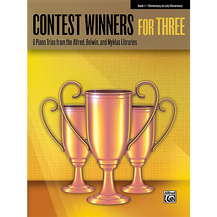 AlfredContest Winners for Three Book 1 Elementary / Late Elementary Piano