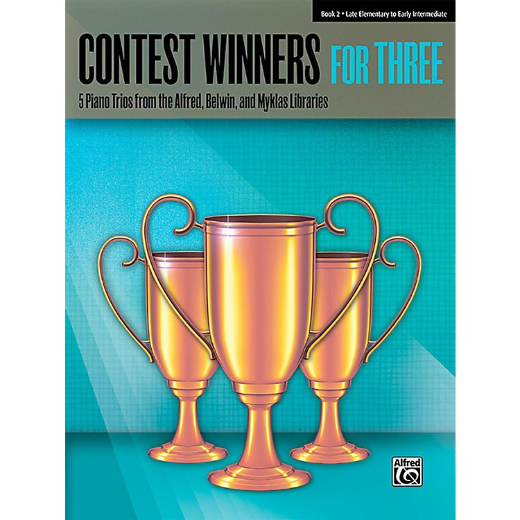 AlfredContest Winners for Three Book 2  Late Elementary / Early Intermediate Piano