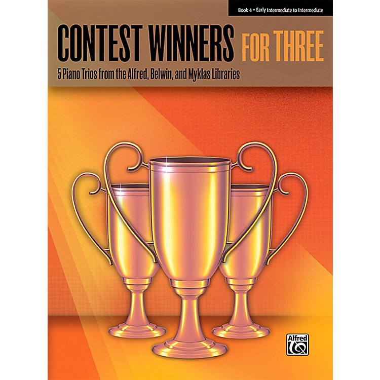Alfred Contest Winners for Three Book 4 Early Intermediate / Intermediate Piano